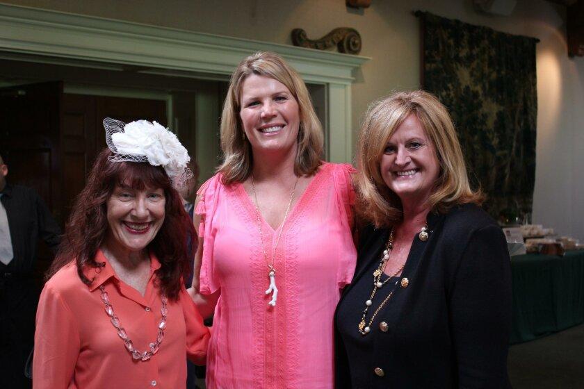Diana Cavagnaro, Gina Hixson and Jackie Helm