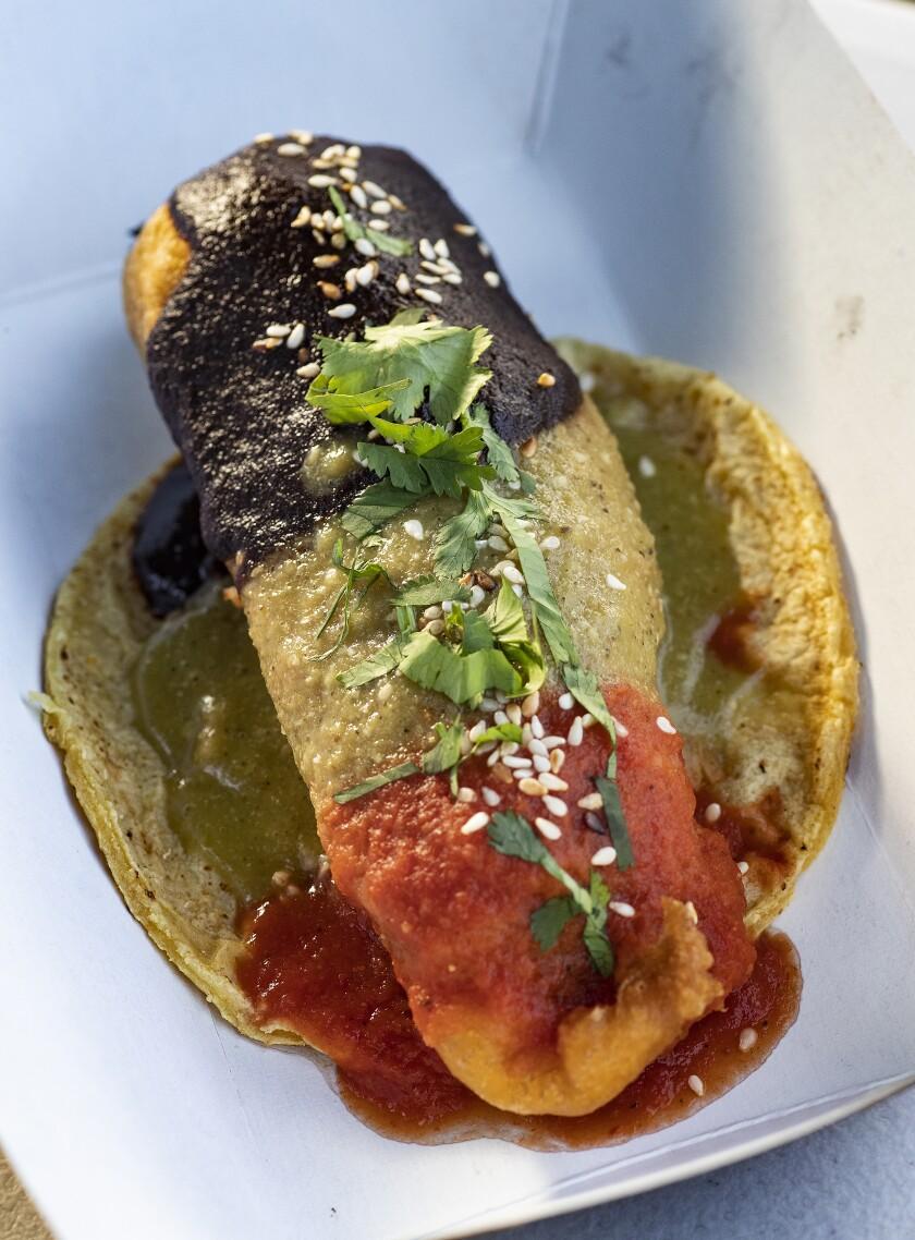 Vegan chile relleno form Tehuanita 2.0