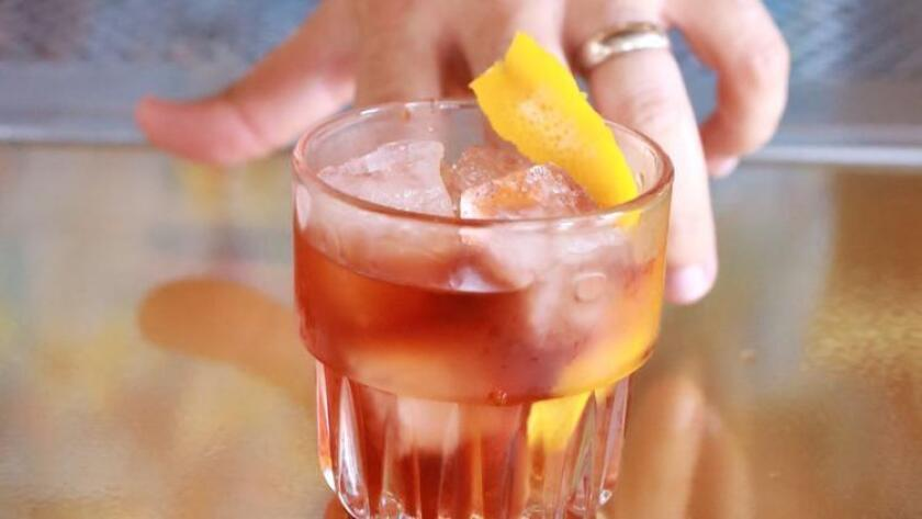 Soda & Swine's Old Fashioned. Photo from Medium Raw Arts