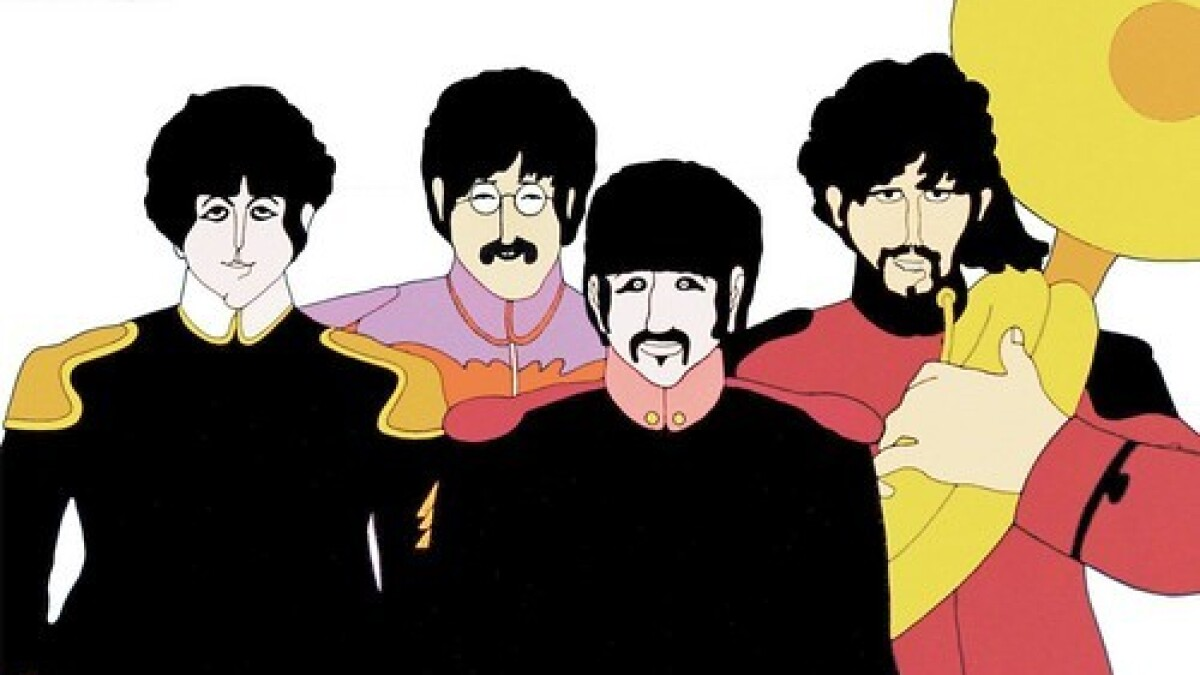 Beatles Yellow Submarine Sing Along Coming To Youtube Los Angeles Times
