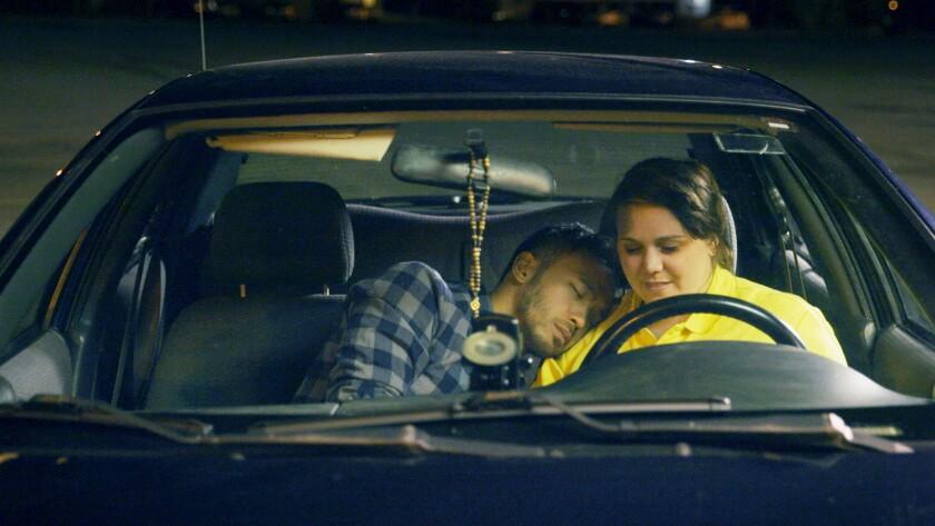 "Darrel Gamotin and Reid Asselstine star in the movie ""Wexford Plaza."""