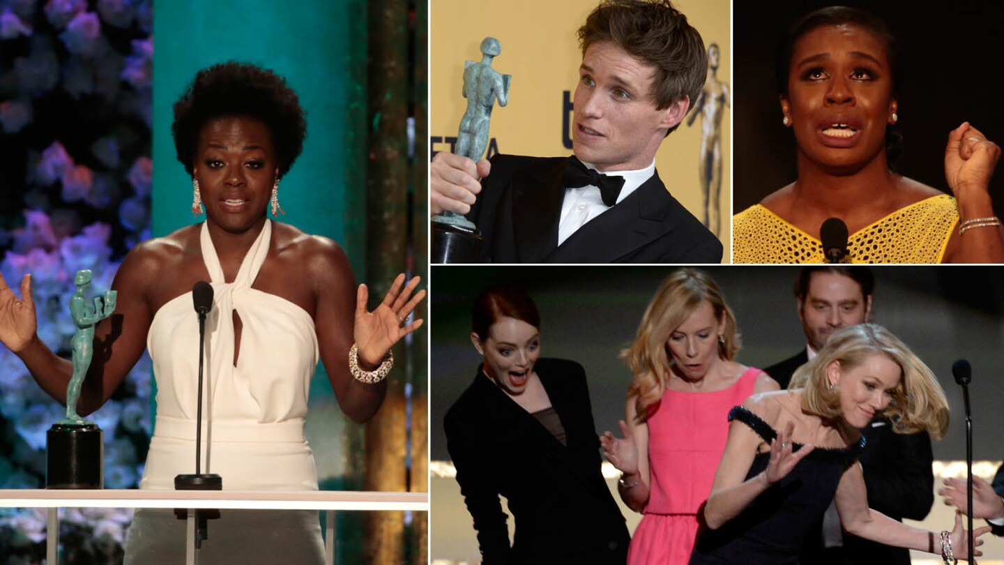 SAG Awards 2015: Best and worst moments