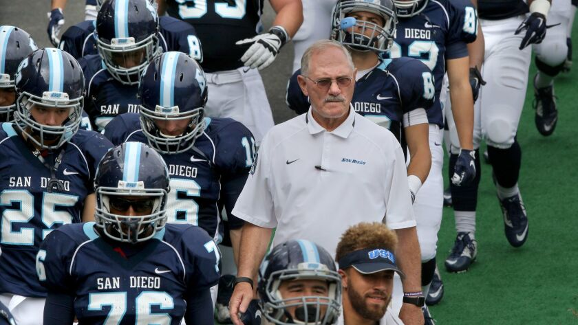 Coach Dale Lindsey will lead his USD team against a Western New Mexico squad that lists five players from San Diego.