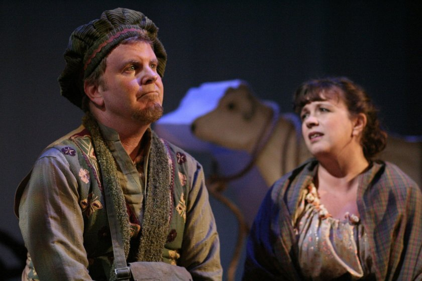 """""""Into the Woods"""" at New Village Arts Theatre in 2010"""