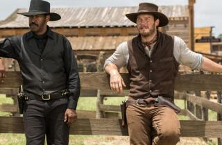 Kenneth Turan says the jokey 'Magnificent Seven' remake 'doesn't really come to life'