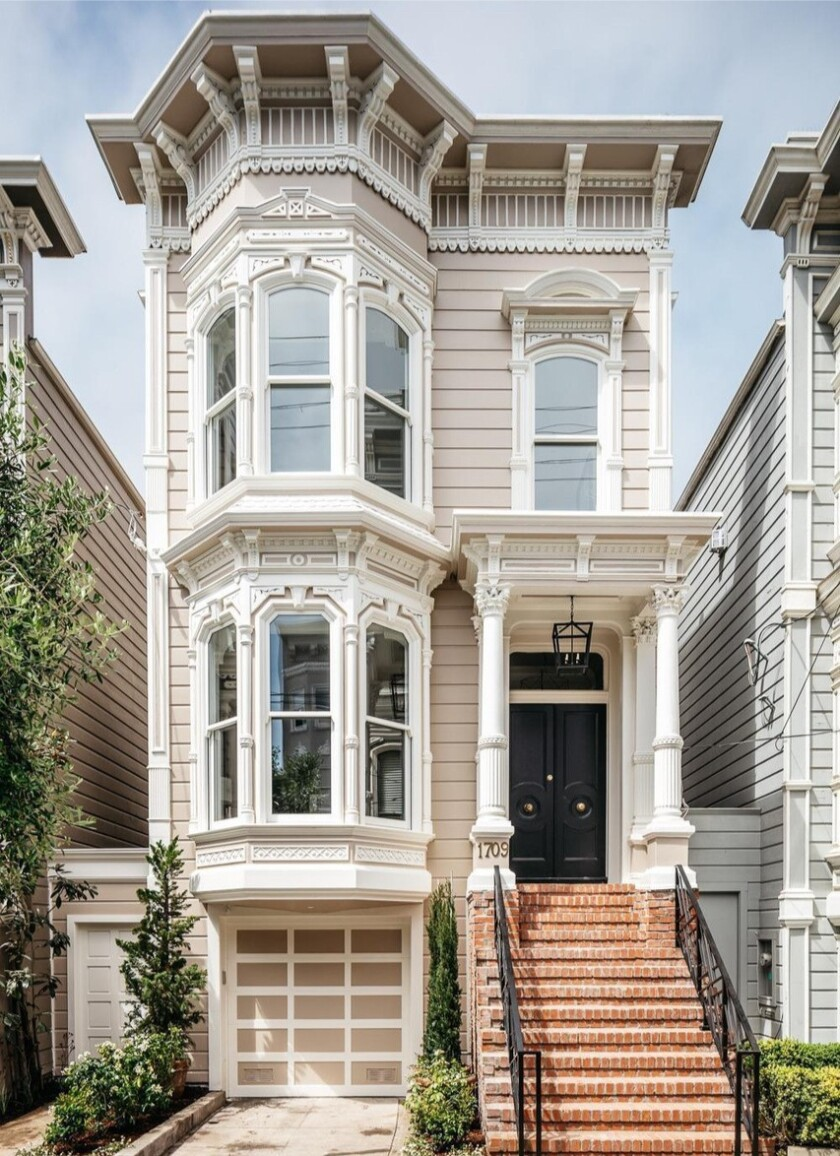 Built in 1883, the three-story Victorian holds four bedrooms and 3.5 bathrooms in 3,700 square feet.