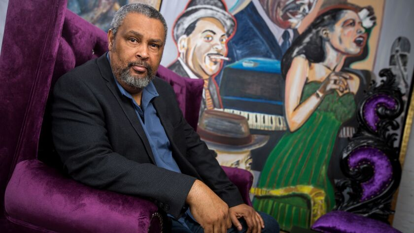 Blackkklansman co-writer Kevin Willmott poses for a portrait at 40 Acres and a Mule production offices on September 18, 2018 in Brooklyn, NY.