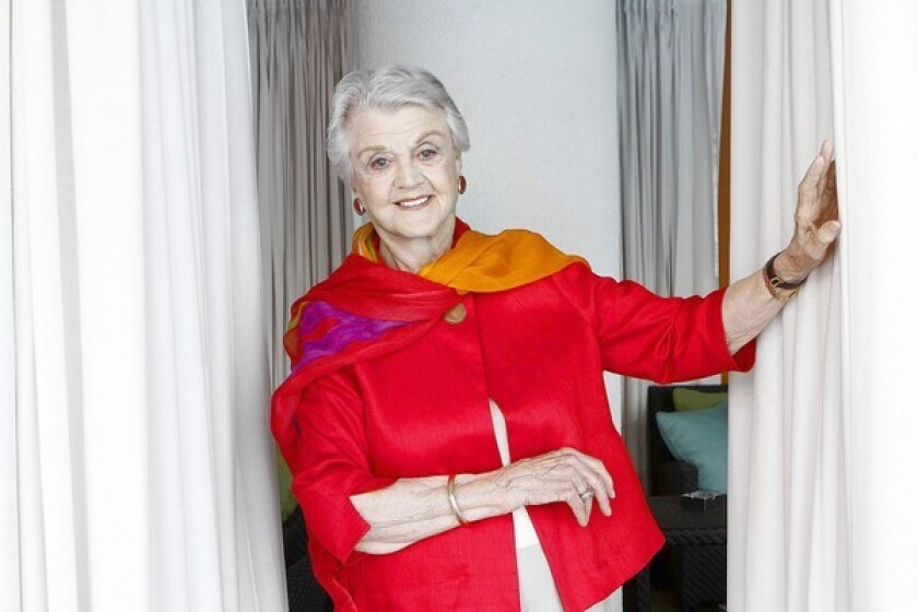 Angela Lansbury at the Beverly Hilton Hotel in June 2011.