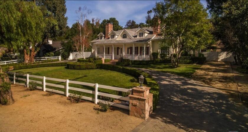 Rob Cohen's equestrian estate in Hidden Hills