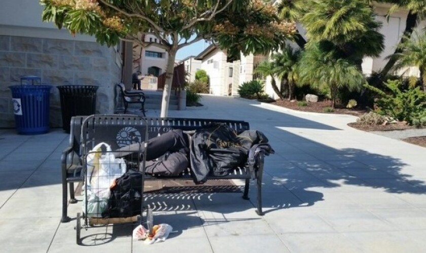 La Mesa is applying for a state grant that will allow the city to put about $1 million into helping its homeless population.