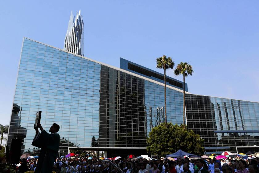 St. Callistus moves to former Crystal Cathedral site