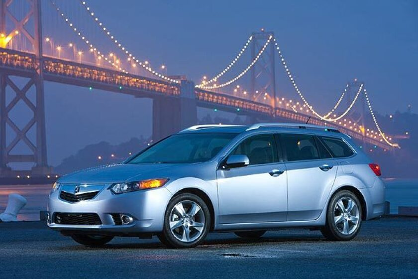The Acura TSX Sport Wagon marks Acura's entry into the premium wagon segment. See full story