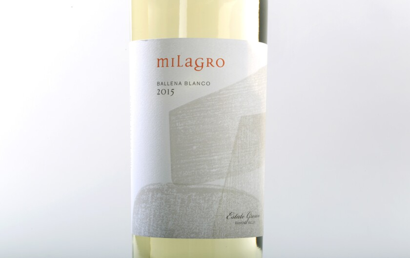 Milagro 2015 Ballena Blanco