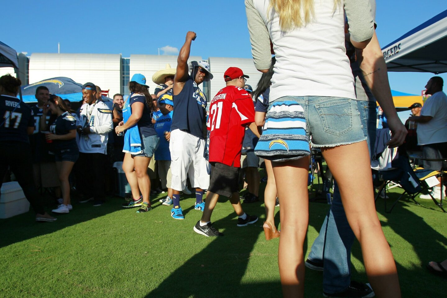Chargers - Cardinals 9/8/2014 scene