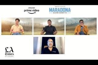 Conoce a los tres Maradona de la nueva serie de Amazon /ENTREVISTA