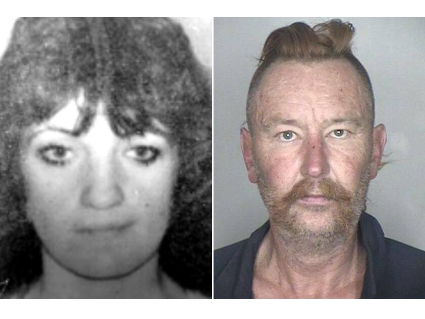 Authorities have linked Richard Pyle, right, to the 1991 disappearance and presumed death of Tracy Zandstra, who was his girlfriend at the time.