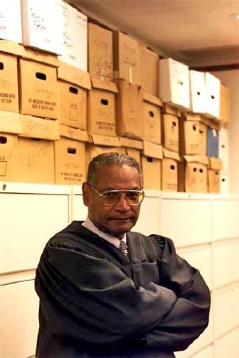 """""""I am delighted,"""" said veteran Los Angeles federal Judge Terry J. Hatter Jr., who for more than 20 years has publicly assailed federal sentencing laws as ill-conceived and unfairly targeted toward minorities. """"This brings some justice back to our justice system,"""" the 74-year-old jurist added."""