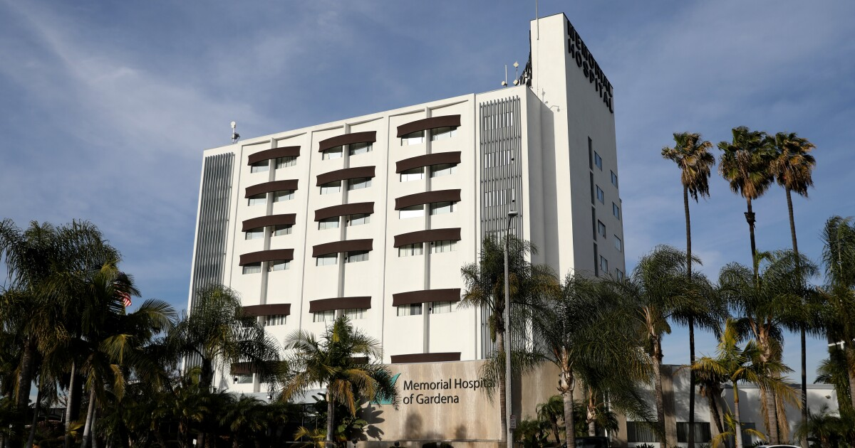One L.A. County hospital ICU is operating at triple its capacity amid COVID-19 surge