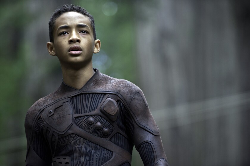 "Jaden Smith in ""After Earth""; he is slated to star in ""The Good Lord Bird."""