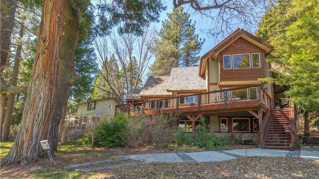David Arquette's Lake Arrowhead home | Hot Property