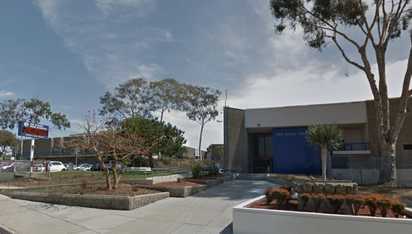 San Diego High School has been on its Balboa Park Site since 1882, when it opened as Russ School.