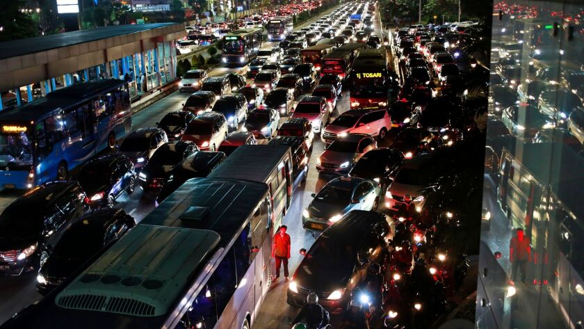 When Jakarta's carpool policy was abruptly canceled, traffic went from dreadful to outright atrociou