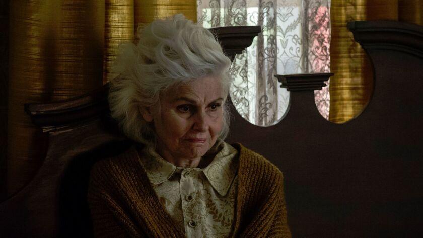 "Paula Prentiss as horror novelist Iris Blum in ""I am the Pretty Thing that Lives in the House""."