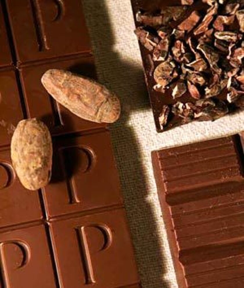 From beans to bars of chocolate