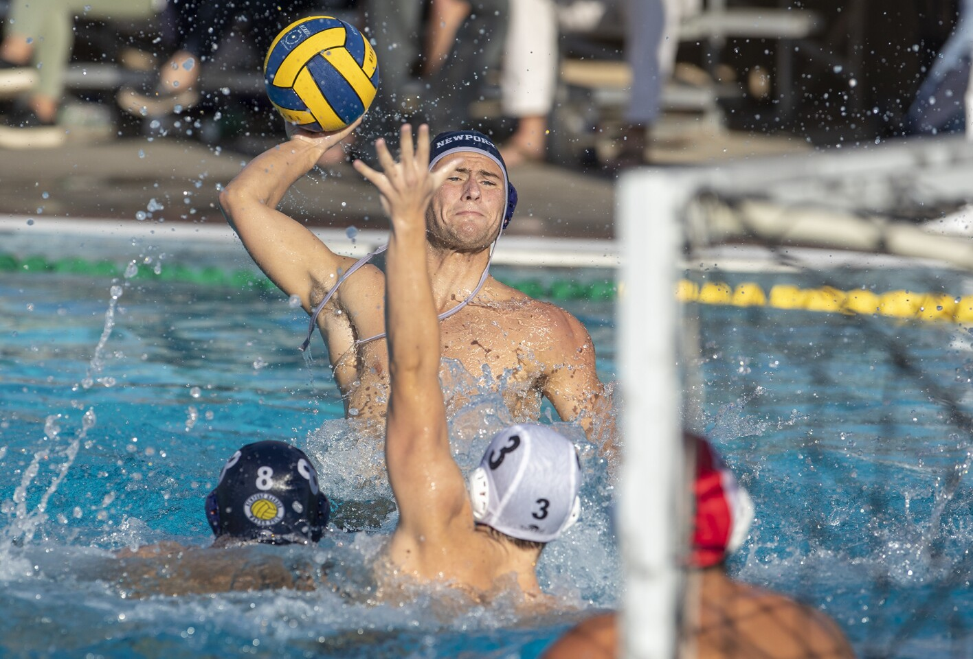 Photo Gallery: Newport Harbor vs. La Jolla Bishop's in the CIF Southern California Regional Division I boys' water polo semifinals