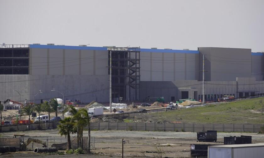 The Amazon facility in Otay Mesa.