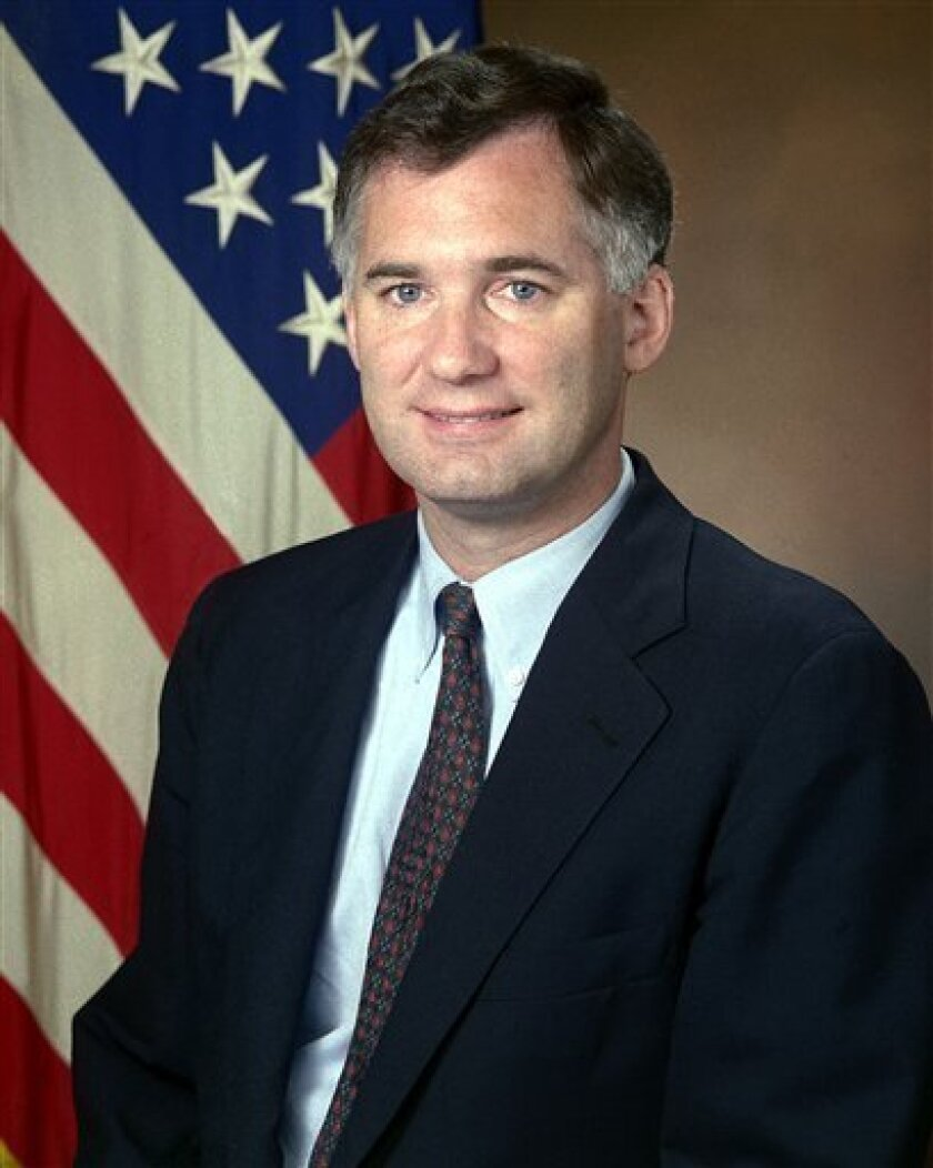 This is an undated photo provided by the U.S. Department of Defense of William J. Lynn then Under Secretary of Defense. President-elect Barack Obama appointed William J. Lynn III, a defense contractor's lobbyist, Thursday Jan. 8, 2009 to become the No. 2 official at the Defense Department, a choice