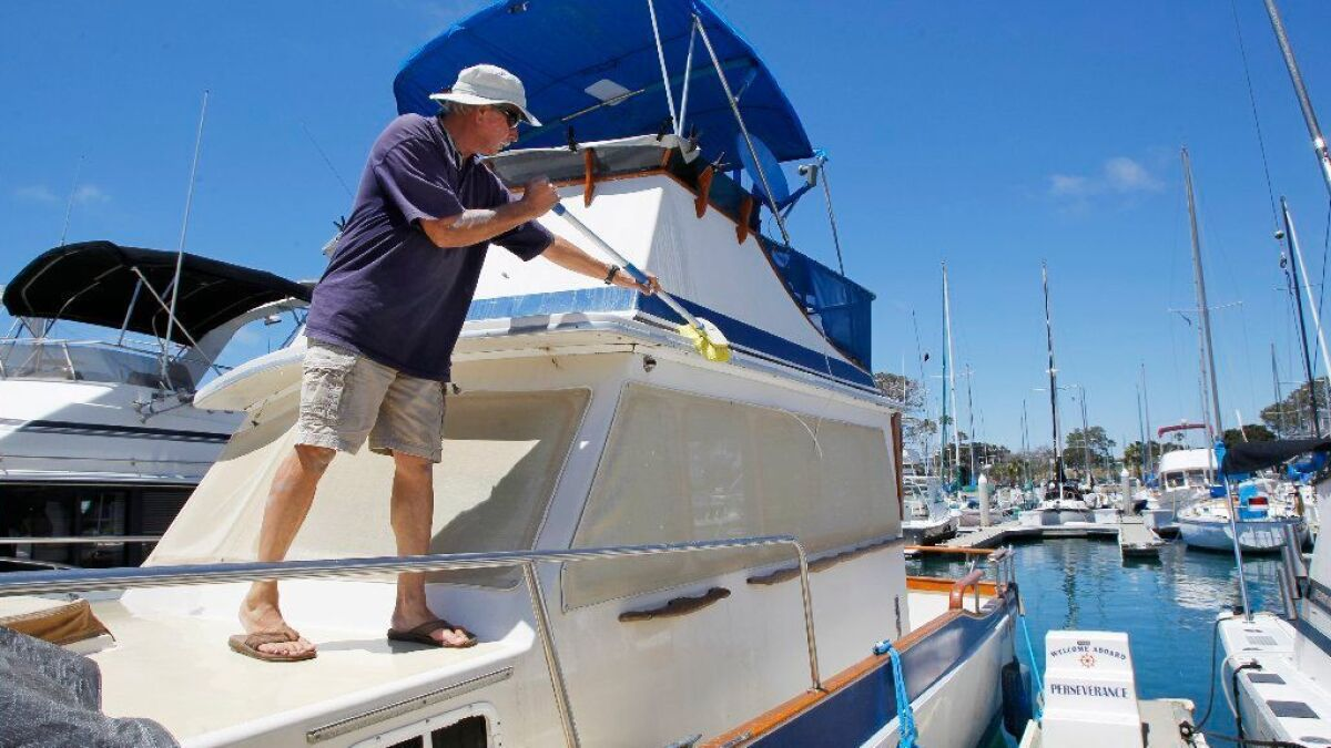 Plan ahead for a boat slip at the harbor - The San Diego Union-Tribune