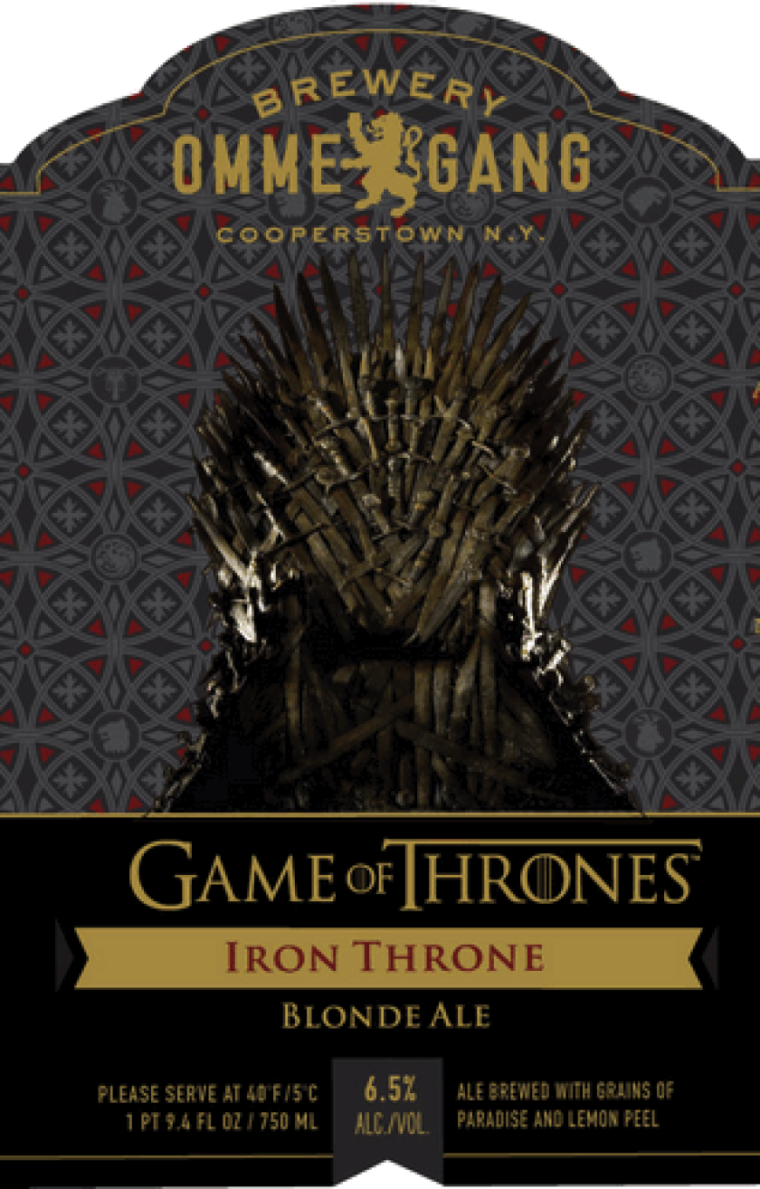Ommegang releases 'Game of Thrones' ale: Drink like a Lannister
