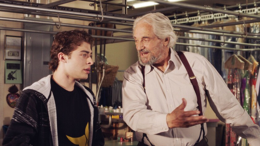 "(L-R) - Hal Linden and Ryan Ochoa in a scene from ""The Samuel Project."" Credit: in8 Releasing"