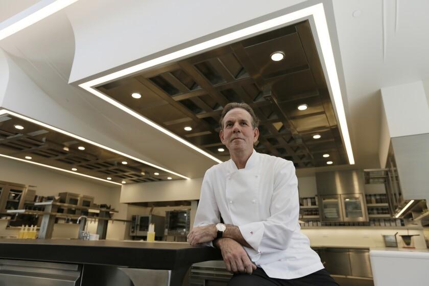 Le chef Thomas Keller étend son empire culinaire hautement décoré à Las Vegas.