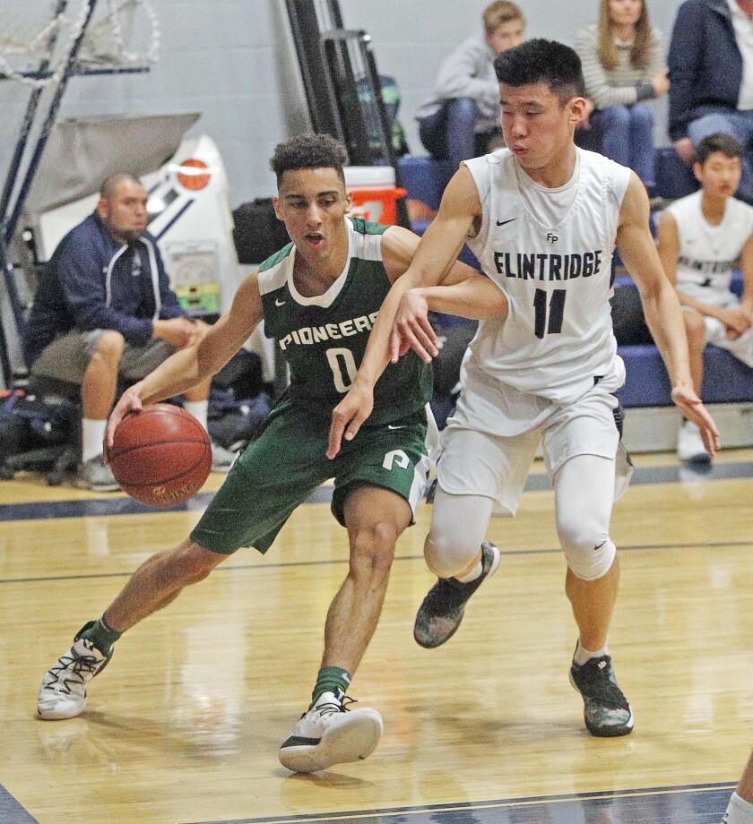 Photo Gallery: Providence vs. Flintridge Prep in Prep League boys' basketball