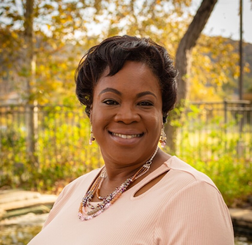 Francine Maxwell, president of the National Association for the Advancement of Colored People San Diego Branch since 2018