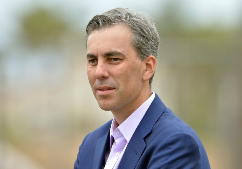 Kevin Demoff es el jefe de operaciones del equipo