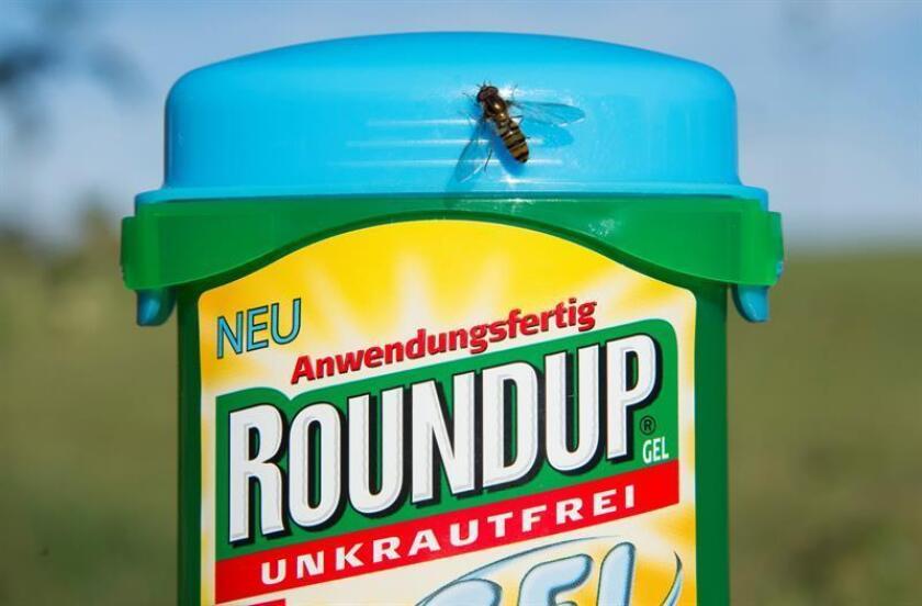 Un herbicida de la compañia Monsanto. EFE/Archivo