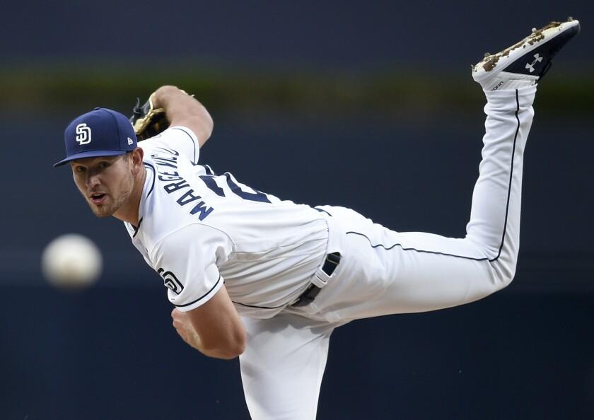 APphoto_Marlins Padres Baseball