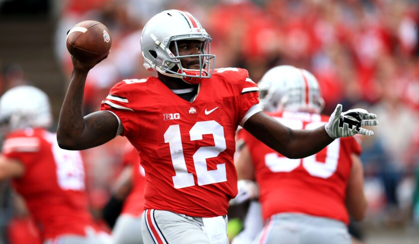 reputable site 71c9f 904e5 Ohio State will stick with Cardale Jones as its starting ...