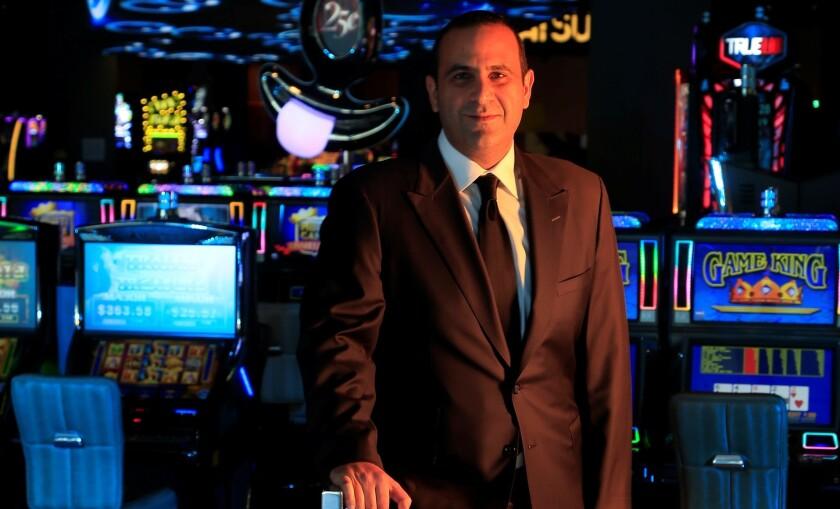 Sam Nazarian at the SLS Las Vegas. Investors in a Miami hotel claim in a lawsuit that they lost $8 million with Nazarian.