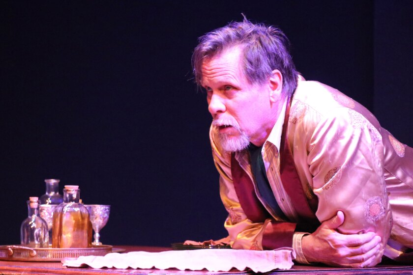 "Don Harvey in New American Theatre's ""Uncle Vanya."""