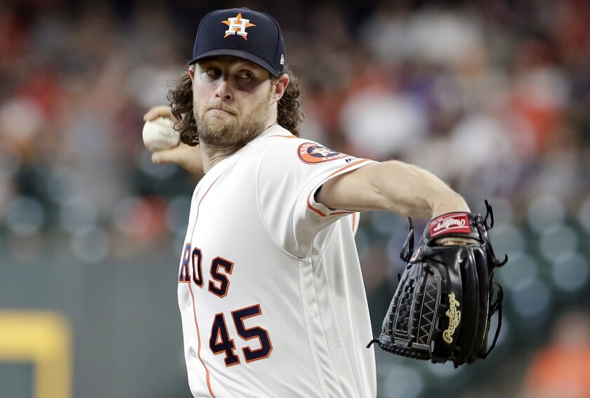 Houston Astros starter Gerrit Cole is a Newport Beach native who grew up an Angels fan and played at Orange Lutheran High School and UCLA.