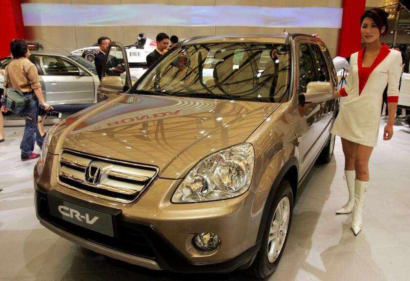 Honda airbag recall