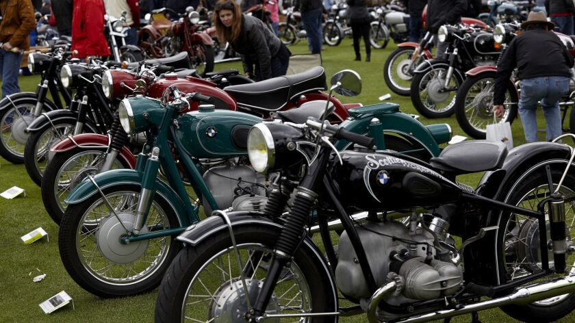 Scenes from the Quail Motorcycle Gathering in Carmel, Calif. on May 6, 2017.