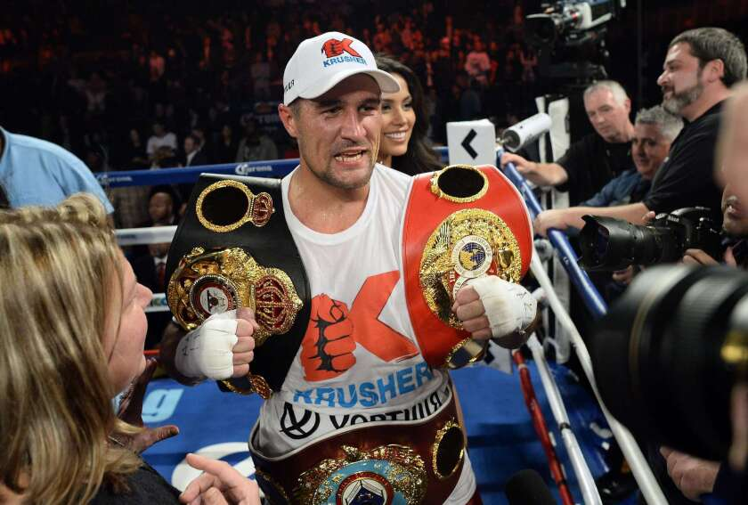 Promoter says Andre Ward has signed to fight Sergey Kovalev in late 2016