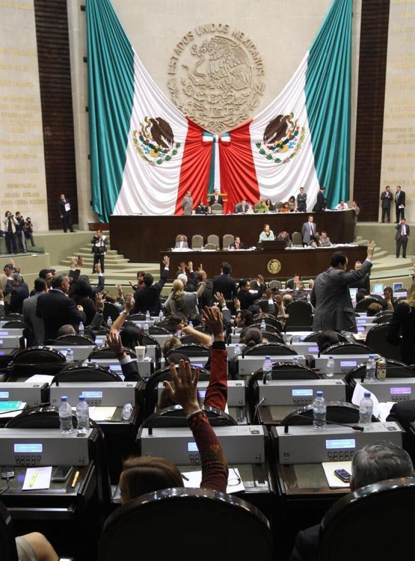 Vista general del pleno de la Cámara de Diputados. EFE/Archivo