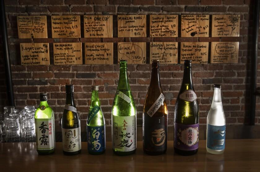 Sake at Ototo