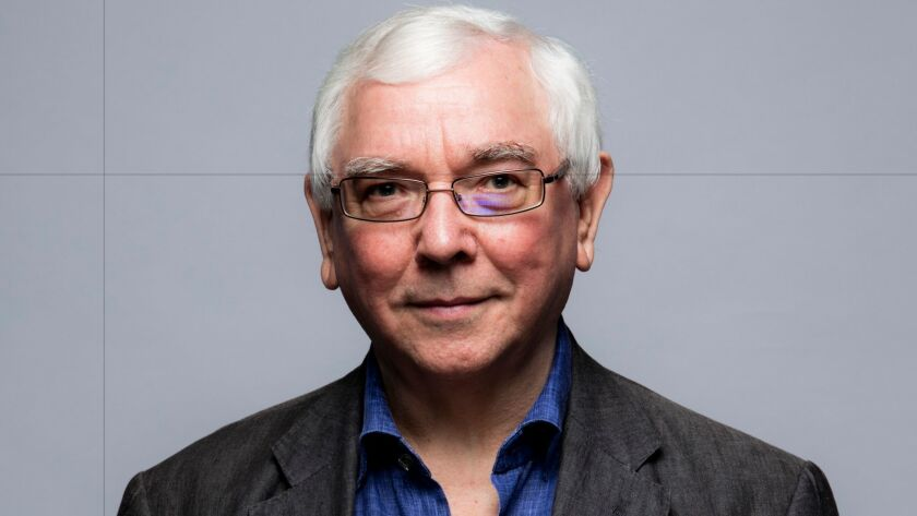 """""""A Quiet Passion"""" director Terence Davies, photographed in the L.A. Times photo studio at the 41st Toronto International Film Festival, on Sept. 12, 2016."""